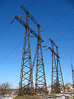 Опора линии электропередач модель 46