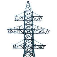 Опора линии электропередач модель 2