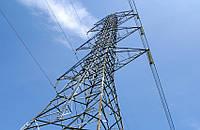 Опора линии электропередач модель 5