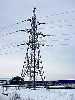 Опора линии электропередач модель 9