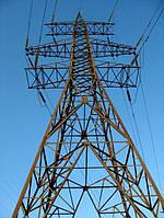 Опора линии электропередач модель 10