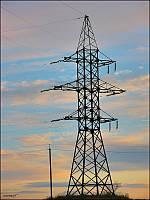 Опора линии электропередач модель 12