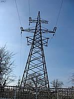 Опора линии электропередач модель 16