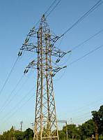Опора линии электропередач модель 18