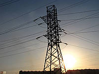 Опора линии электропередач модель 19