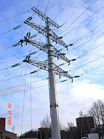 Опора линии электропередач модель 24