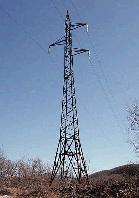 Опора линии электропередач модель 25