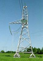 Опора линии электропередач модель 26