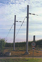 Опора линии электропередач модель 54