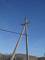 Опора линии электропередач модель 58