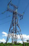 Опора линии электропередач модель 62