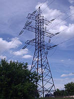 Опора линии электропередач модель 69