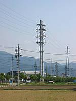 Опора линии электропередач модель 70