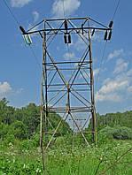 Опора линии электропередач модель 72