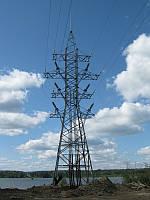 Опора линии электропередач модель 80