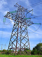 Опора линии электропередач модель 87