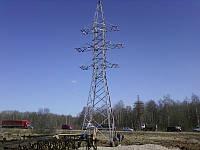 Опора линии электропередач модель 90