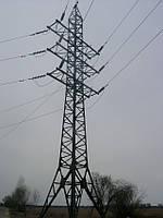 Опора линии электропередач модель 93