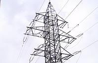 Опора линии электропередач модель 96