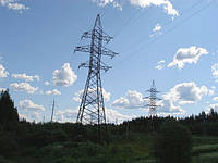 Опора линии электропередач модель 107