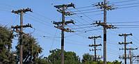 Опора линии электропередач модель 115