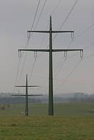 Опора линии электропередач модель 126