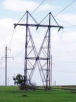 Опора линии электропередач модель 146