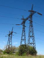 Опора линии электропередач модель 167