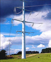Опора линии электропередач модель 168