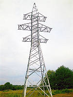 Опора линии электропередач модель 152