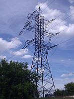 Опора линии электропередач модель 153