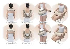 Вибромассажер для спины, плеч и шеи Cervical Massage Shawls