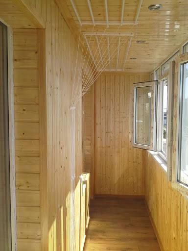 Полная реконструкция балкона.
