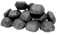 Брикетированный уголь и брикетированный лигнин