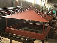 Кованый дымник модель №009