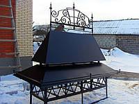 Кованый дымник модель №013