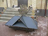 Кованый дымник модель №017