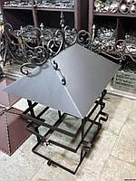 Кованый дымник модель №028