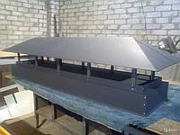 Кованый дымник модель №035
