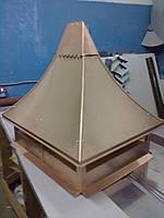 Кованый дымник модель №040