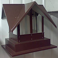 Кованый дымник модель №043