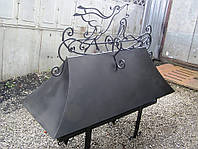 Кованый дымник модель №055