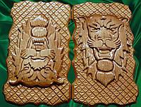 """Нарды из дерева  """" Лев """""""