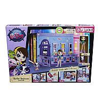Игровой набор Littlest Pet Shop Стильная спальня Блайс