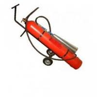 Огнетушитель ВВК28 (ОУ40) углекислотный передвижной