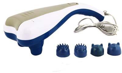 Массажер для тела SL - 222 ручной Dual - Head Massager вибромассажер