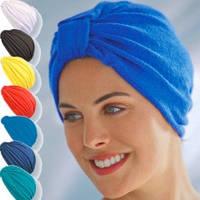 Шапочка для сауны без подкладки Феши Германия синяя