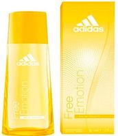Adidas Free Emotion EDT 30 ml  туалетная вода женская (оригинал подлинник  Испания)