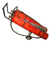 Огнетушитель ВВК56 (ОУ80) углекислотный передвижной