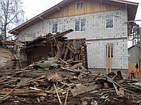 Слом домика Киев